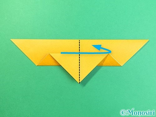 折り紙で鷲(鷹)の折り方手順9