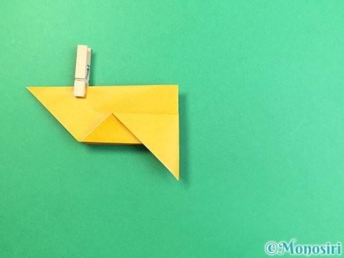 折り紙で鷲(鷹)の折り方手順10