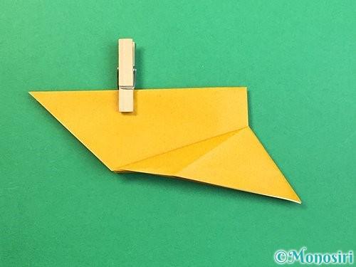 折り紙で鷲(鷹)の折り方手順13