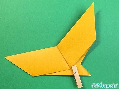 折り紙で鷲(鷹)の折り方手順15