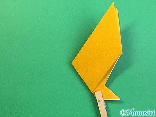 折り紙で鷲(鷹)の折り方手順16