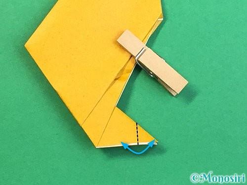 折り紙で鷲(鷹)の折り方手順17
