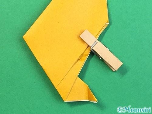 折り紙で鷲(鷹)の折り方手順18