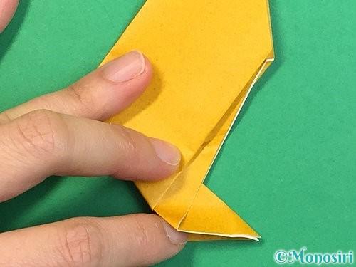 折り紙で鷲(鷹)の折り方手順19