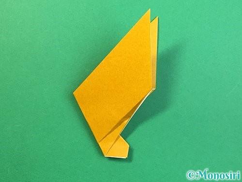 折り紙で鷲(鷹)の折り方手順23