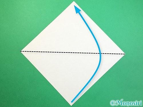 折り紙で鷲(鷹)の折り方手順24
