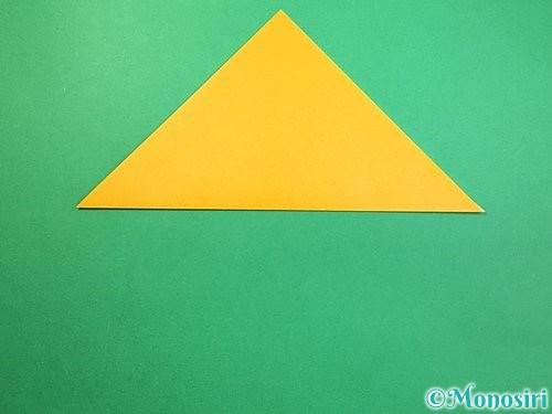 折り紙で鷲(鷹)の折り方手順25