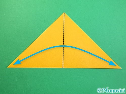 折り紙で鷲(鷹)の折り方手順26