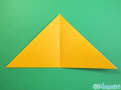 折り紙で鷲(鷹)の折り方手順27