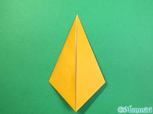 折り紙で鷲(鷹)の折り方手順29