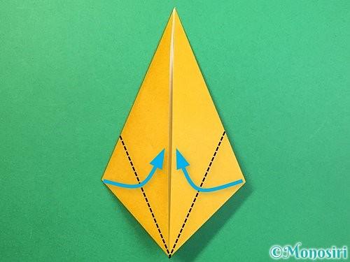 折り紙で鷲(鷹)の折り方手順30