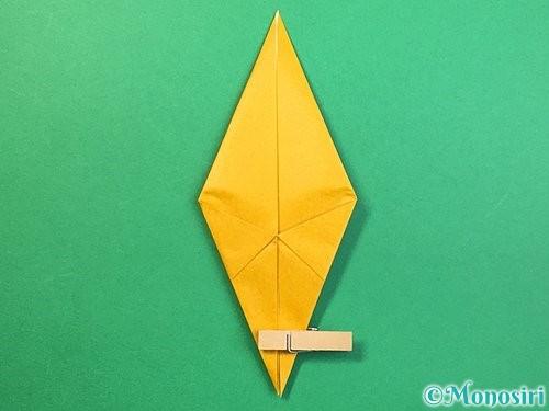 折り紙で鷲(鷹)の折り方手順31