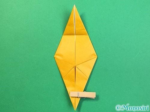 折り紙で鷲(鷹)の折り方手順33