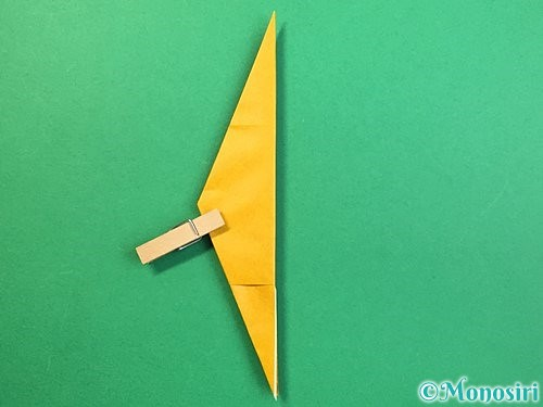 折り紙で鷲(鷹)の折り方手順35