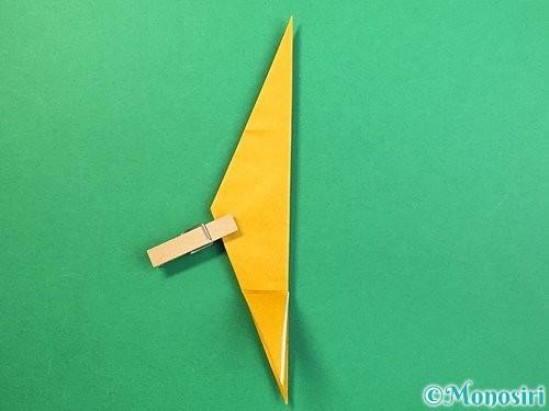 折り紙で鷲(鷹)の折り方手順37