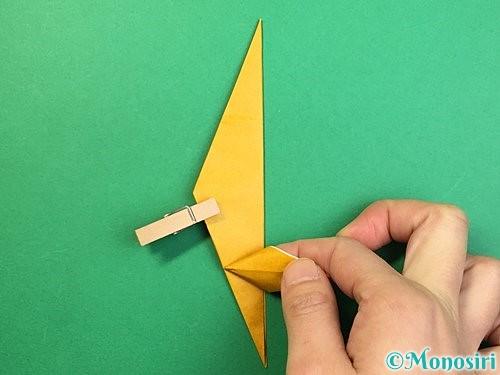 折り紙で鷲(鷹)の折り方手順39