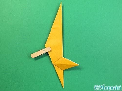 折り紙で鷲(鷹)の折り方手順40