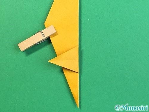 折り紙で鷲(鷹)の折り方手順42