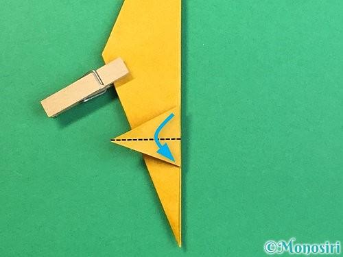 折り紙で鷲(鷹)の折り方手順43
