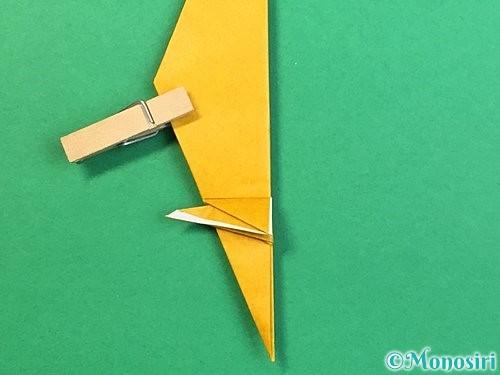 折り紙で鷲(鷹)の折り方手順46