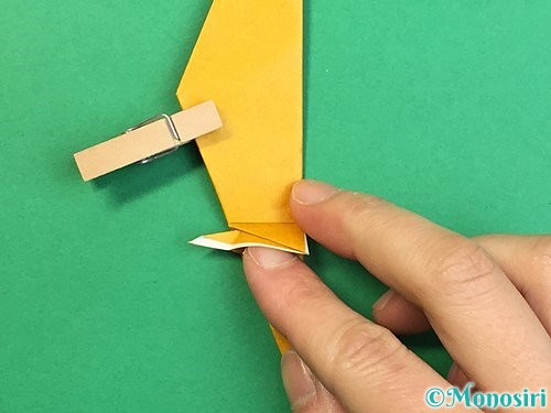 折り紙で鷲(鷹)の折り方手順47