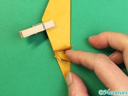 折り紙で鷲(鷹)の折り方手順49