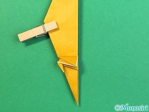 折り紙で鷲(鷹)の折り方手順50