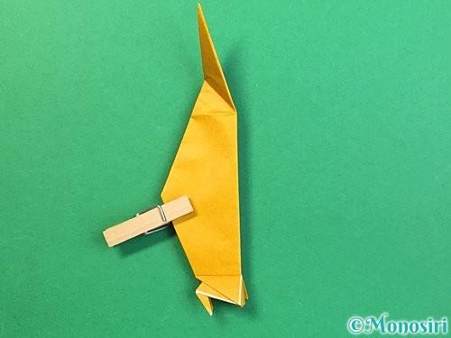 折り紙で鷲(鷹)の折り方手順53