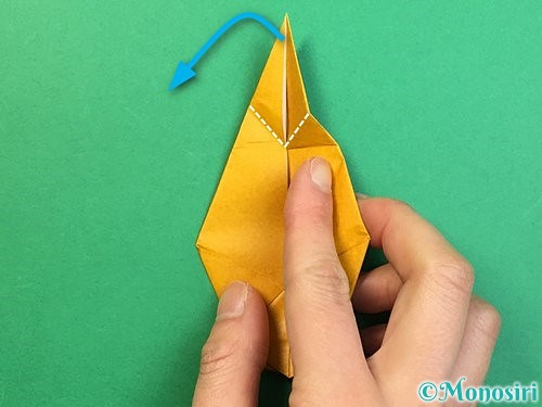 折り紙で鷲(鷹)の折り方手順55