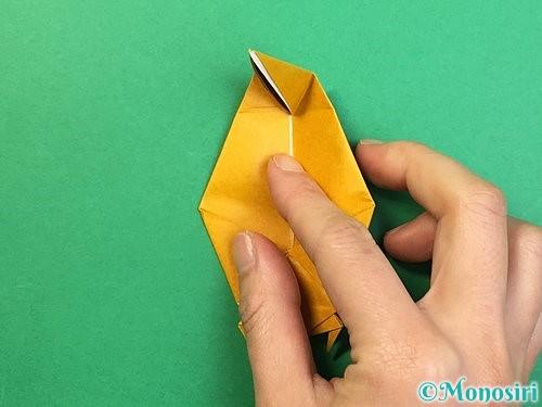 折り紙で鷲(鷹)の折り方手順56