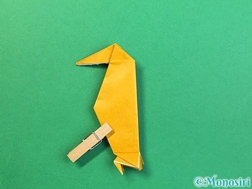 折り紙で鷲(鷹)の折り方手順57