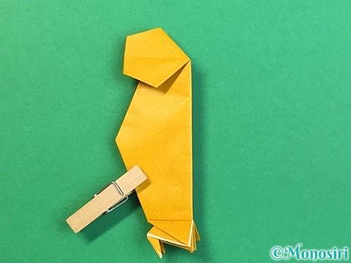 折り紙で鷲(鷹)の折り方手順61