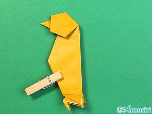 折り紙で鷲(鷹)の折り方手順62