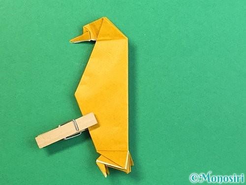 折り紙で鷲(鷹)の折り方手順64