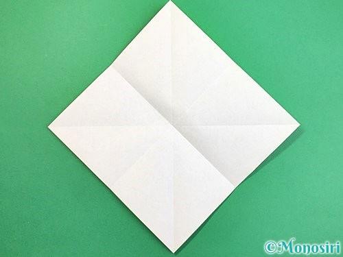折り紙でウミガメの折り方手順4