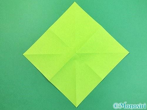 折り紙でウミガメの折り方手順5