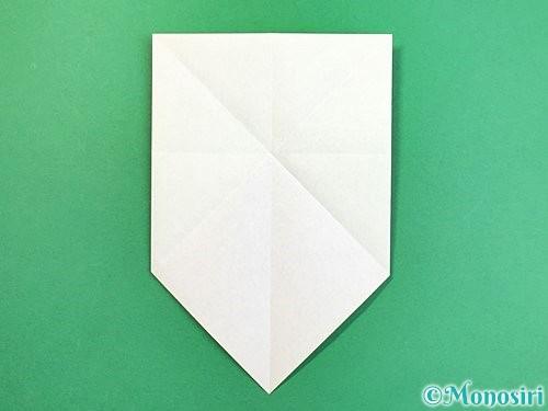 折り紙でウミガメの折り方手順8