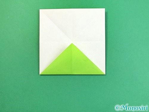 折り紙でウミガメの折り方手順10