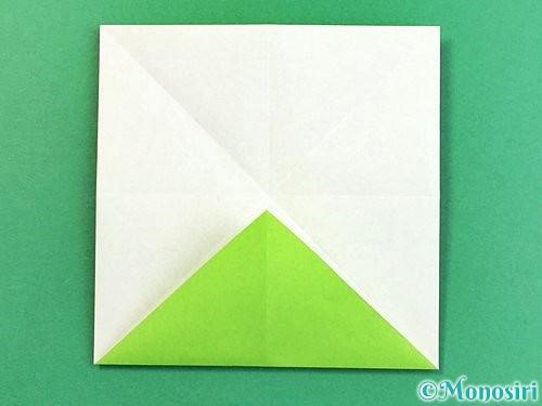 折り紙でウミガメの折り方手順11