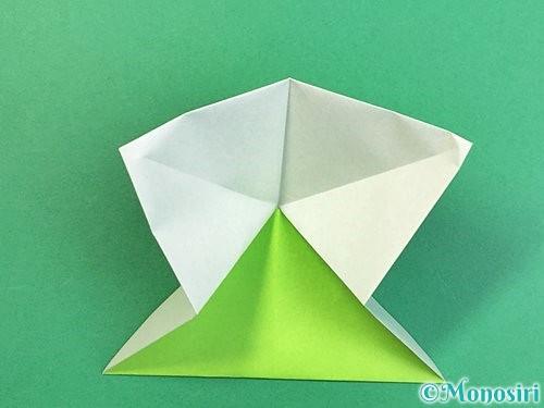 折り紙でウミガメの折り方手順12