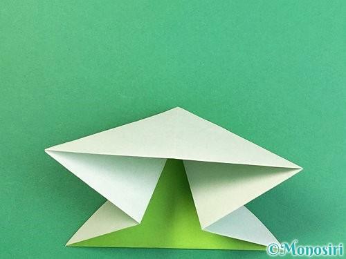 折り紙でウミガメの折り方手順13