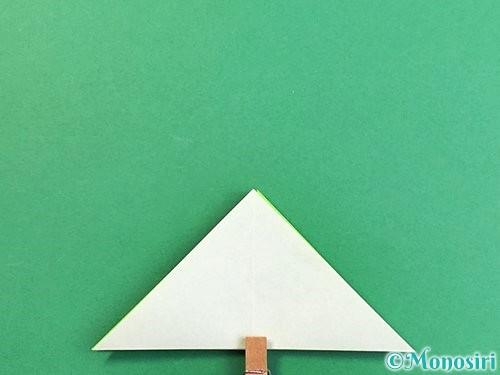折り紙でウミガメの折り方手順14