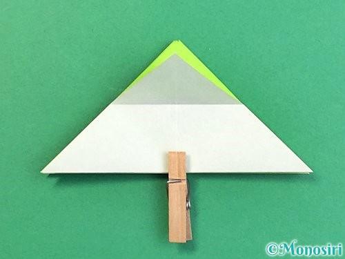 折り紙でウミガメの折り方手順16
