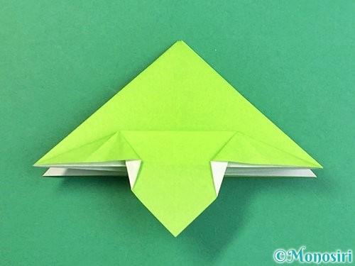 折り紙でウミガメの折り方手順24