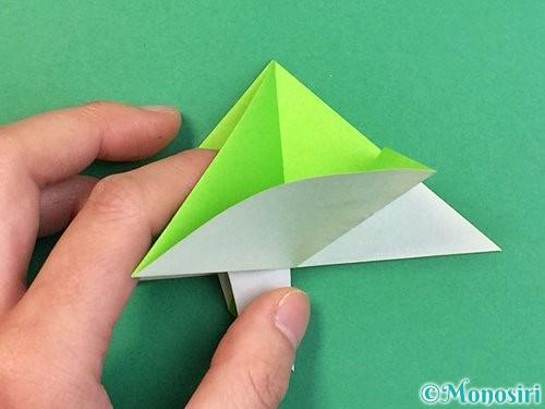 折り紙でウミガメの折り方手順29