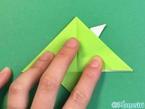 折り紙でウミガメの折り方手順31