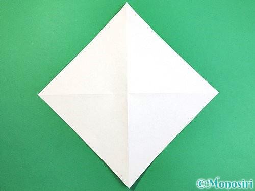 折り紙でアヒルの折り方手順3