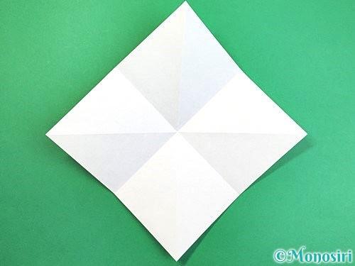 折り紙でアヒルの折り方手順5