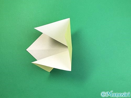 折り紙でアヒルの折り方手順7