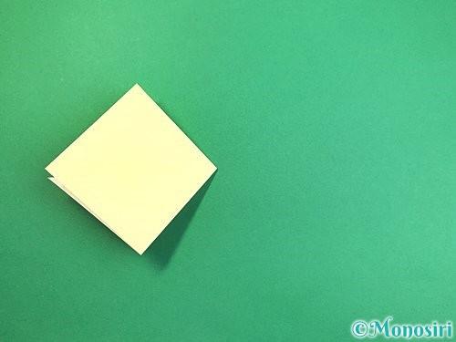折り紙でアヒルの折り方手順8